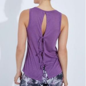 Brandy Tie Singlet Ellie Sportswear top NWT Medium